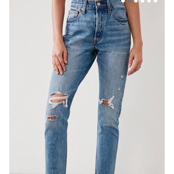 8211e3e3 Levi's Jeans | Levi 501 Straight Leg Old Hangouts | Poshmark
